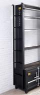 Dakota Metal Bookcase Ladder Detail