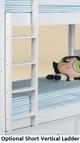 Beatrice White Optional Vertical Short Ladder
