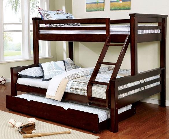 Kastel Twin Over Queen Bunk Bed