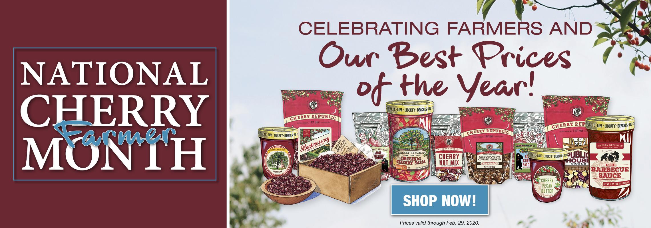National Cherry Farmer Month