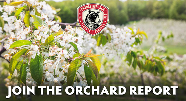 Orchard Report Sign up