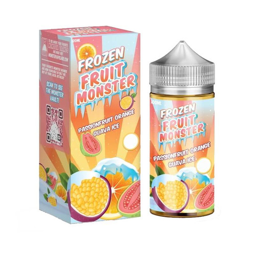 Frozen Fruit Monster - Passionfruit Orange Guava Ice