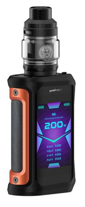Geekvape Aegis X 200W TC Kit with ZEUS Subohm Tank