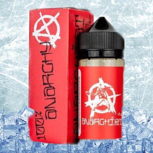 Anarchist- Red on ICE - Strawberry hard candy