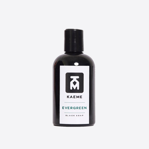 Kaeme Evergreen Black Soap