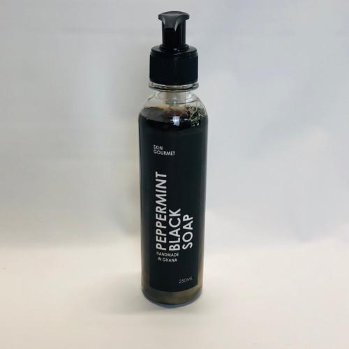 Peppermint Black Soap