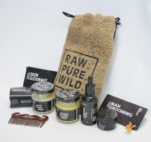 Man Beard Grooming Kit