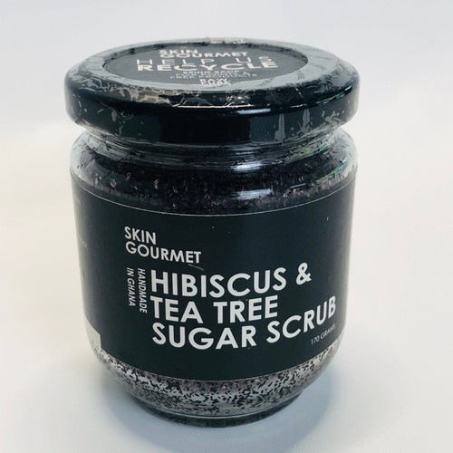 Hibiscus & Tea Tree Sugar Scrub