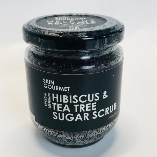Hibiscus & Tea Tree Sugar Scrub