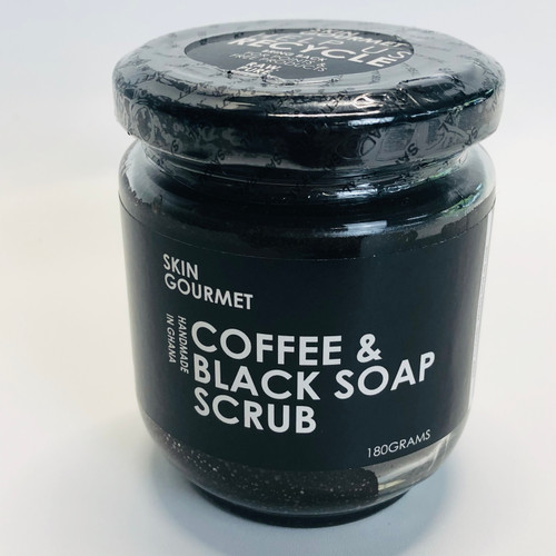 Coffee & Black Soap Scrub