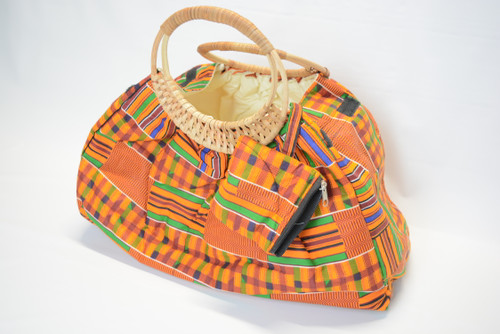 Cane Bag With Coin Purse 1