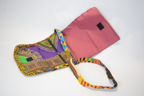 African Print Shoulder Bag 1