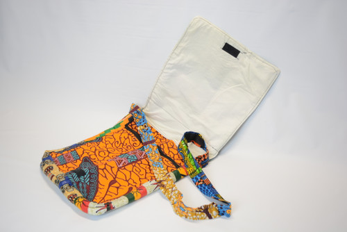 African Print Shoulder Bag 2