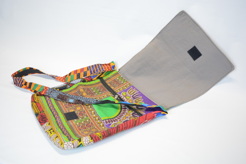 African Print Shoulder Bag 6