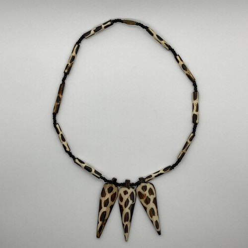 Leopard Spear Necklace