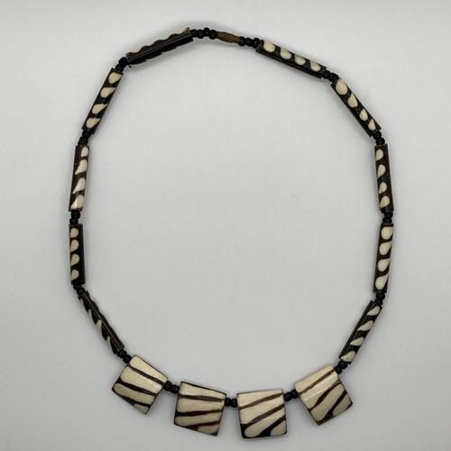 Zebra Necklace