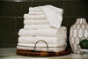 Vacation Rental Bath Towels - Value Plus Series - White