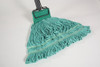 Green Microfiber Wet Mop  6 per case