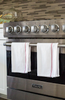 Bulk Kitchen Towels | Wholesale Kitchen Towels | Burgundy Herringbone