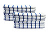 Oversized Beach Towel | 35x70 | Navy Stripe | 12 per case