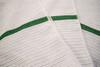 Microfiber Towels | Ribbed | White | 14x18 | 240 Per Case