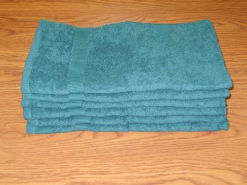 16x27 Forest Green Hand Towel | 144 Per Case