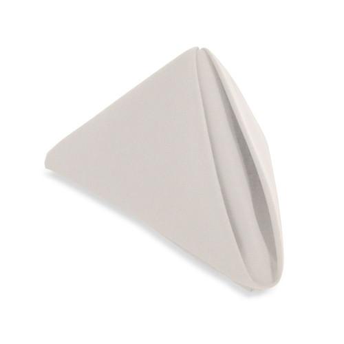 20x20 White Spun Polyester Napkin - 50 per case