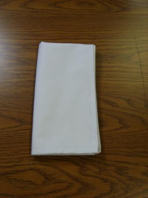 Cotton Napkins | 120 Per Case | White