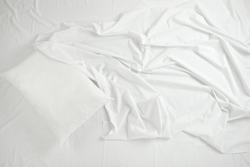 T180 White Fitted Sheet | 24 per case
