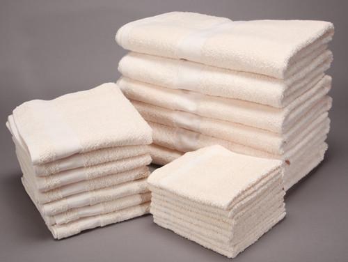 16x27 Beige Value Plus Hand Towel | 120 Per Case