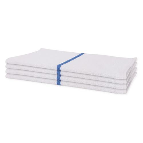 Terry Bar Mop | 100 Per Case | Blue Stripe