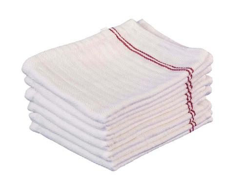 Bulk Kitchen Towels | Wholesale Kitchen Towels | Burgundy Herringbone