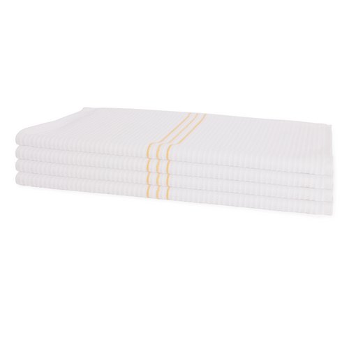 Wholesale Bar Mops   100 Per Case   Ribbed   Gold Stripe