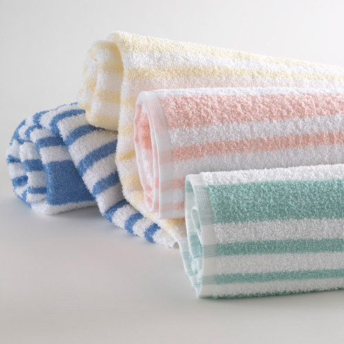 Tropical Stripe Pool Towels   12 per case