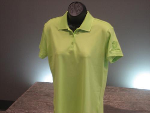 Lime Green Women's Polo