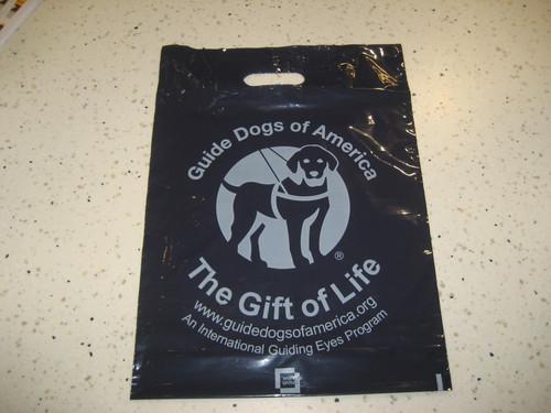 Plastic GDA Giveaway Bags