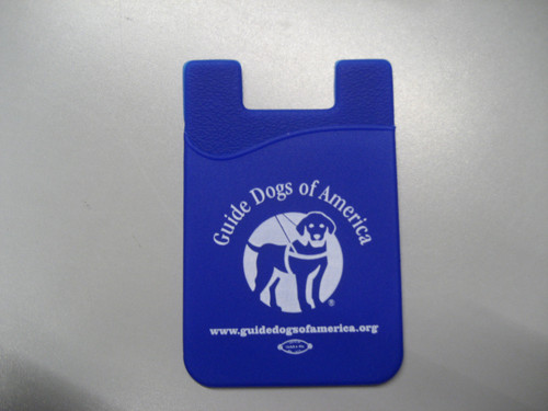 Cell Phone Card Caddy-Blue