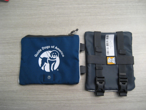 Guide Dog Logo Pouch
