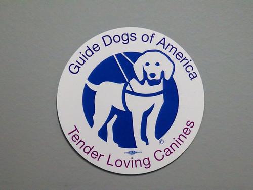 """3""""Circle GDA/TLC logo sticker."""