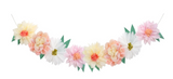 Giant Paper Flower Garland, great decor and party supply