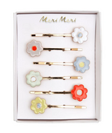 Daisy Enamel Hair Pins from Meri Meri
