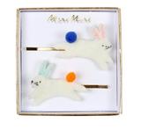 Bunny Hair Slides from Meri Meri
