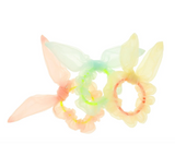 Bunny Hair Scrunchies in pastel colors, set of 3, made by Meri Meri