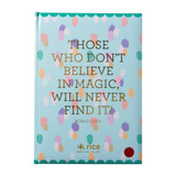 Large Notebook, Those who don't beleive in Magic will never find it