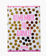 Remember to Dance notebook, medium size from Rice.dk