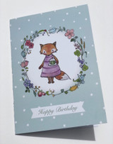 Greeting card by Anette Grostad, Norwegian artist