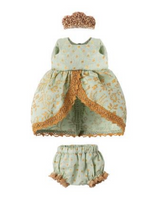 Princess dress from Maileg, fits Micro Bunny and Big Sister Mouse, Maileg Danish Design