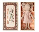 Big Sister mouse with matchbox, Danish Design from Maileg