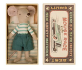 Big Brother Mouse with Matchbox, Danish Design from Maileg