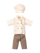 Chef Clothes for King Mouse, Maileg, Danish Design